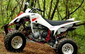 2000 Yamaha YFM350 Warrior