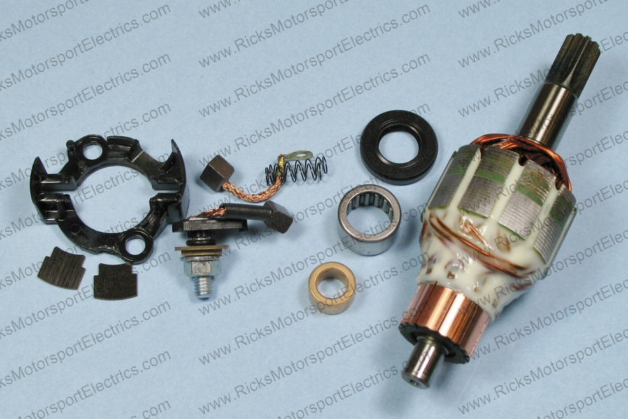 KTM Starter Motor Rebuild Kit Rick's Motorsport Electrics Part Number 70-604