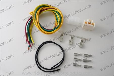 Pleasant Wiring Harness Connector Kit 11 109 From Ricks Motorsport Electrics Wiring Cloud Mangdienstapotheekhoekschewaardnl